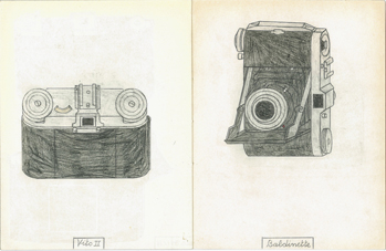 "Philippe Weisbecker ""MARC'S CAMERA"""